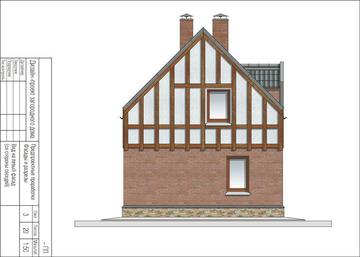 121,5 кв м левый фасад